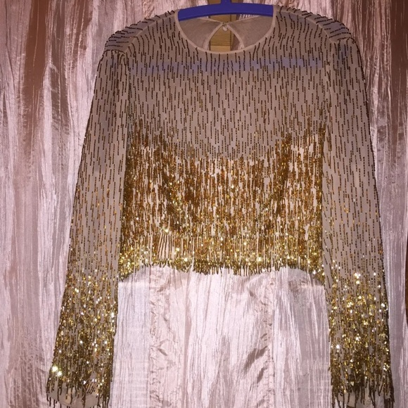 Tops - long sleeve party top size small